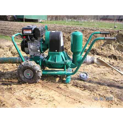 Caffini LIB/2-6 P58.5/AL-NBR/Hatz1D50+T Мотопомпа дизельная для густых и вязких жидкостей Caffini Дизельные Мотопомпы
