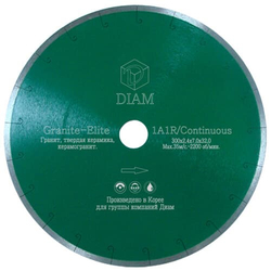 DIAM Granite-Elite 000155 алмазный круг для гранита 180мм Diam По граниту Алмазные диски