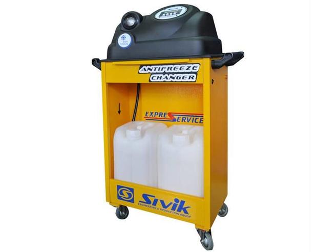 Sivik КС-121М Установка для замены охлаждающей жидкости Sivik Стенды и установки Замена жидкостей